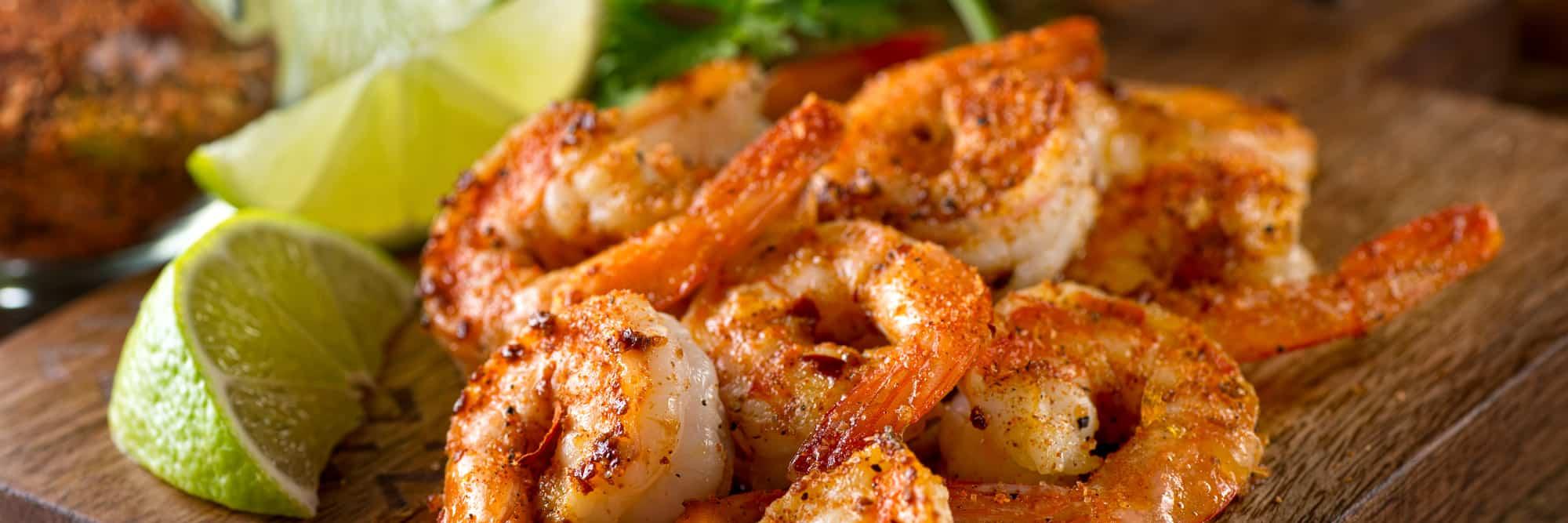 Taste Catering Menus Shrimp Entree