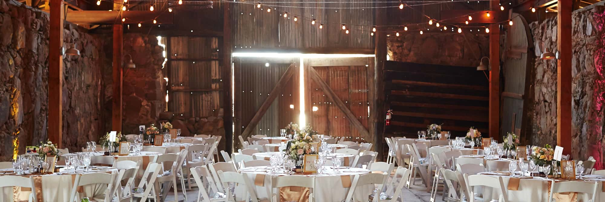 Taste Catering Venues Wedding Event in Classic Barn Farmhouse